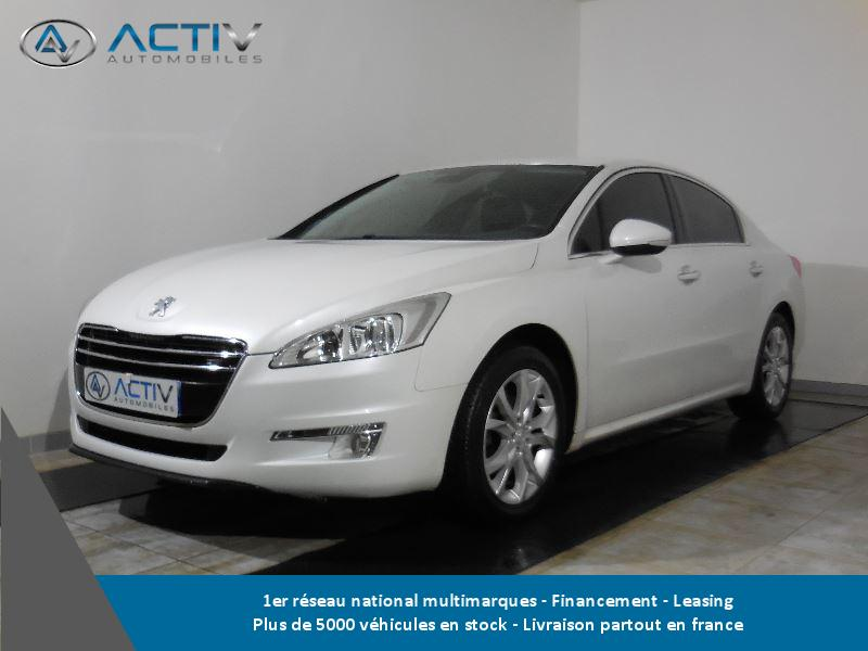 voiture peugeot 508 1 6 e hdi fap allure bmp6 occasion diesel 2011 81222 km 11480. Black Bedroom Furniture Sets. Home Design Ideas
