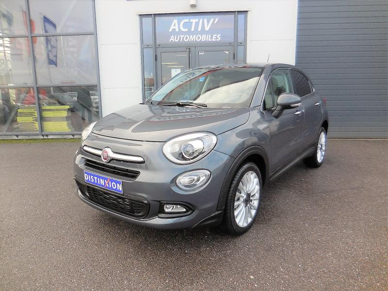 voiture fiat 500 x 1 6 multijet 16v 120ch lounge occasion diesel 2015 5616 km 18480. Black Bedroom Furniture Sets. Home Design Ideas