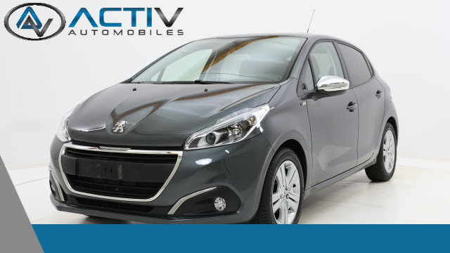 voiture peugeot 208 style 1 2 puretech 82ch occasion essence 2017 10 km 14470 laxou. Black Bedroom Furniture Sets. Home Design Ideas