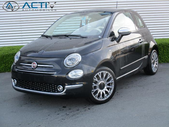 voiture fiat 500 occasion essence 2016 17117 km. Black Bedroom Furniture Sets. Home Design Ideas