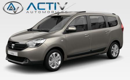 voiture dacia lodgy 1 5 dci 110 prestige occasion diesel 2017 0 km 16720 laxou. Black Bedroom Furniture Sets. Home Design Ideas