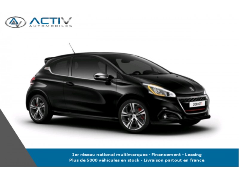 voiture peugeot 208 1 6 thp 208ch s s gti occasion essence 2017 10 km 22515 laxou. Black Bedroom Furniture Sets. Home Design Ideas