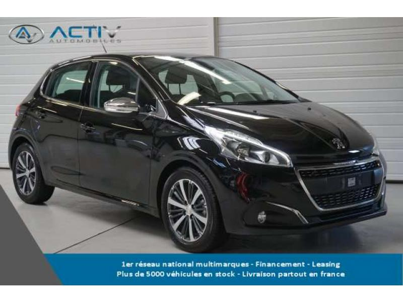 voiture peugeot 208 1 6 bluehdi 100ch bvm5 allure occasion diesel 2017 10 km 17395. Black Bedroom Furniture Sets. Home Design Ideas