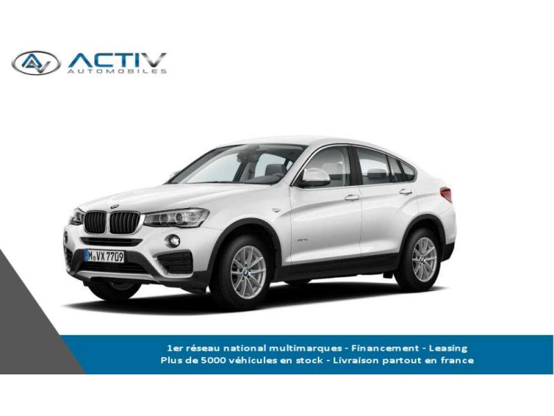 voiture bmw x4 x4 xdrive20d 190ch lounge plus a occasion diesel 2017 4500 km 46543. Black Bedroom Furniture Sets. Home Design Ideas