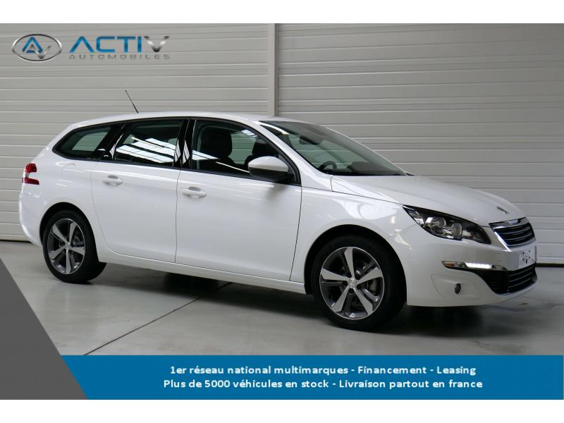 voiture peugeot 308 sw 1 6 bluehdi 120ch s s bvm6 active occasion diesel 2017 10 km. Black Bedroom Furniture Sets. Home Design Ideas