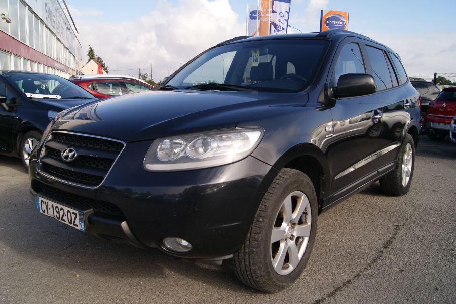 voiture hyundai santa fe occasion diesel 2007 212500 km 6990 aubigny sur n re cher. Black Bedroom Furniture Sets. Home Design Ideas
