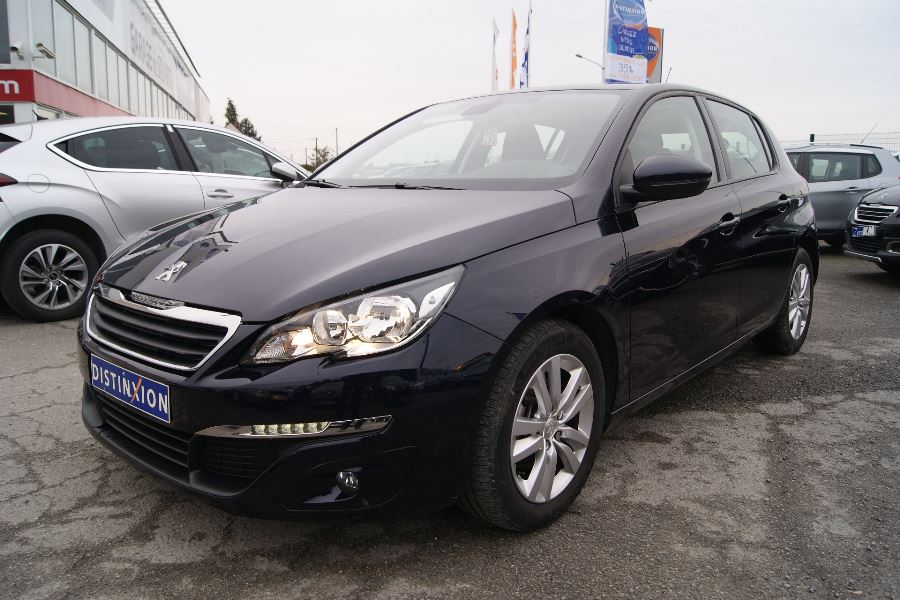voiture peugeot 308 1 6 bluehdi 120ch active business s s occasion diesel 2015 27500 km. Black Bedroom Furniture Sets. Home Design Ideas