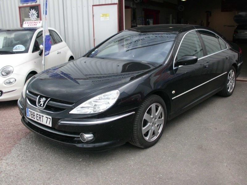 voiture peugeot 607 2 7 v6 hdi griffe occasion diesel 2005 122000 km 8490 aubigny. Black Bedroom Furniture Sets. Home Design Ideas