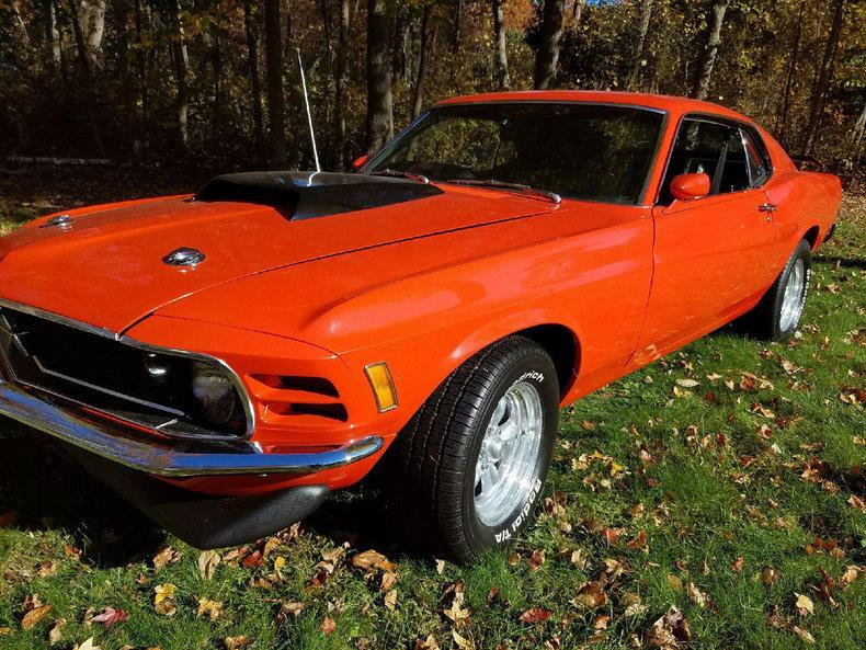 Voiture ford mustang occasion essence 1970 74033 km for Garage ford val de marne