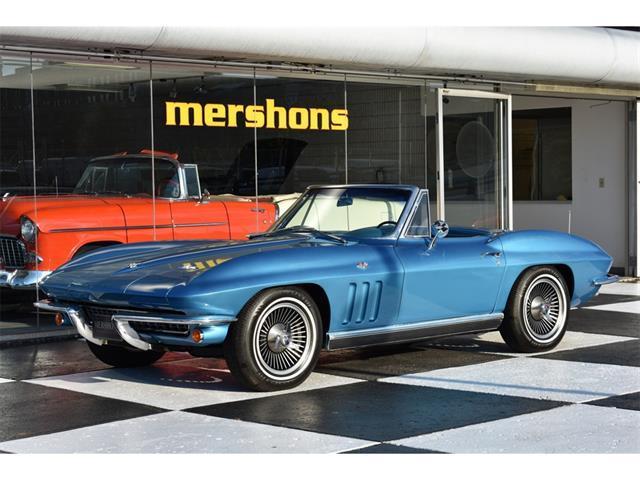 voiture chevrolet corvette 1966 occasion essence 1966 122726 km 72000 vincennes val. Black Bedroom Furniture Sets. Home Design Ideas