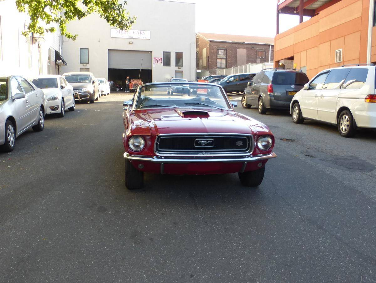 Voiture ford mustang 1968 occasion essence 1968 500 for Garage ford val de marne