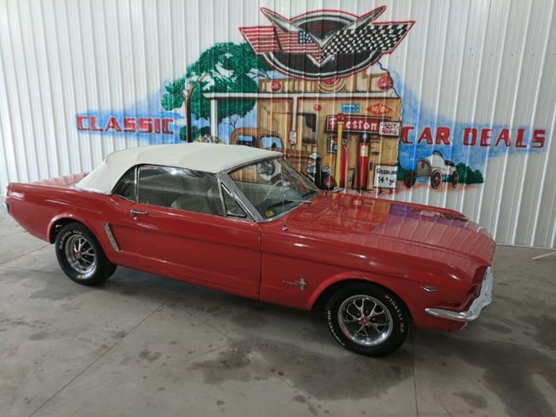 Voiture ford mustang 1965 occasion essence 1965 500 for Garage ford val de marne