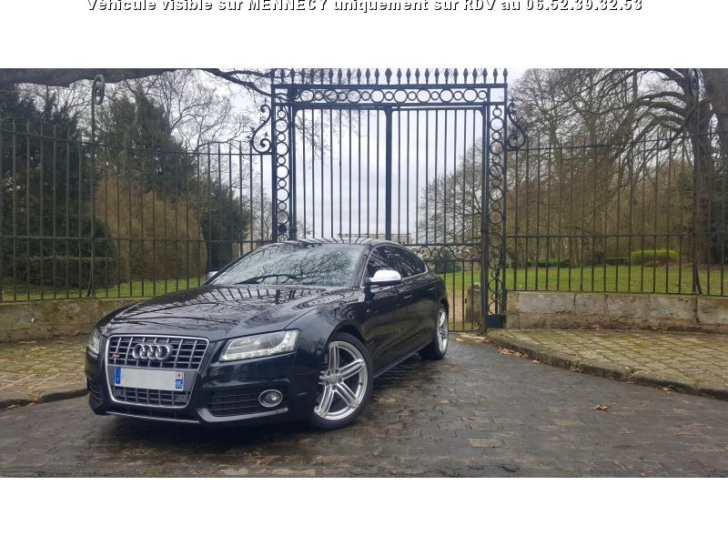 voiture audi a5 s5 sportback quattro 3 0 v6 tfsi bv s tr occasion essence 2010 79800 km. Black Bedroom Furniture Sets. Home Design Ideas