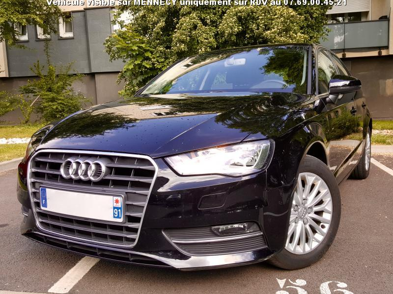 voiture audi a3 iii sportback 1 6 tdi 105 ambiente occasion diesel 2015 32453 km 19990. Black Bedroom Furniture Sets. Home Design Ideas