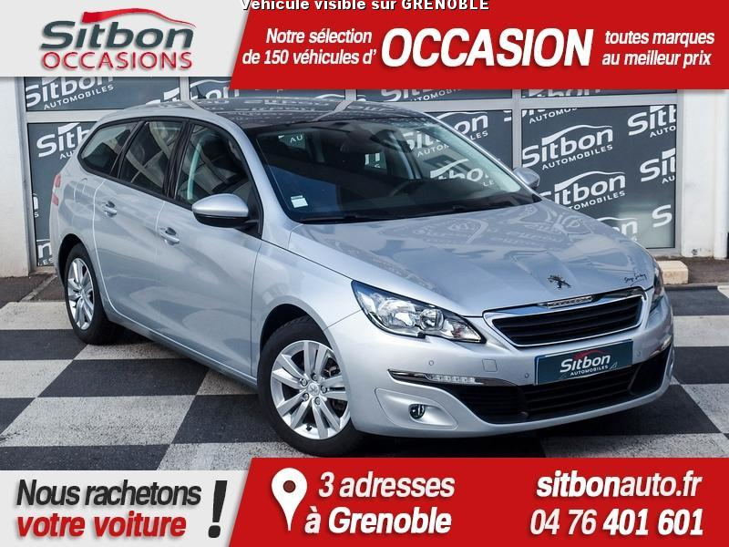 voiture peugeot 308 occasion diesel 2015 27588 km. Black Bedroom Furniture Sets. Home Design Ideas