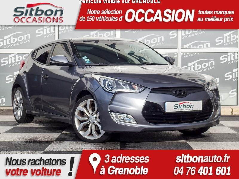 voiture hyundai veloster occasion 2012 58498 km. Black Bedroom Furniture Sets. Home Design Ideas