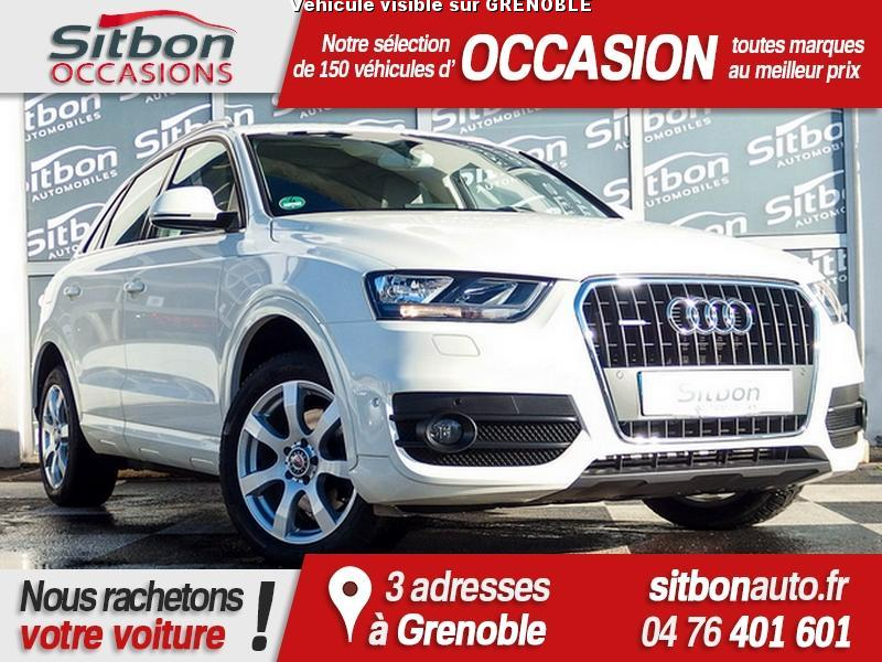 voiture audi q3 occasion diesel 2012 60000 km 25880 grenoble is re 992736128980. Black Bedroom Furniture Sets. Home Design Ideas