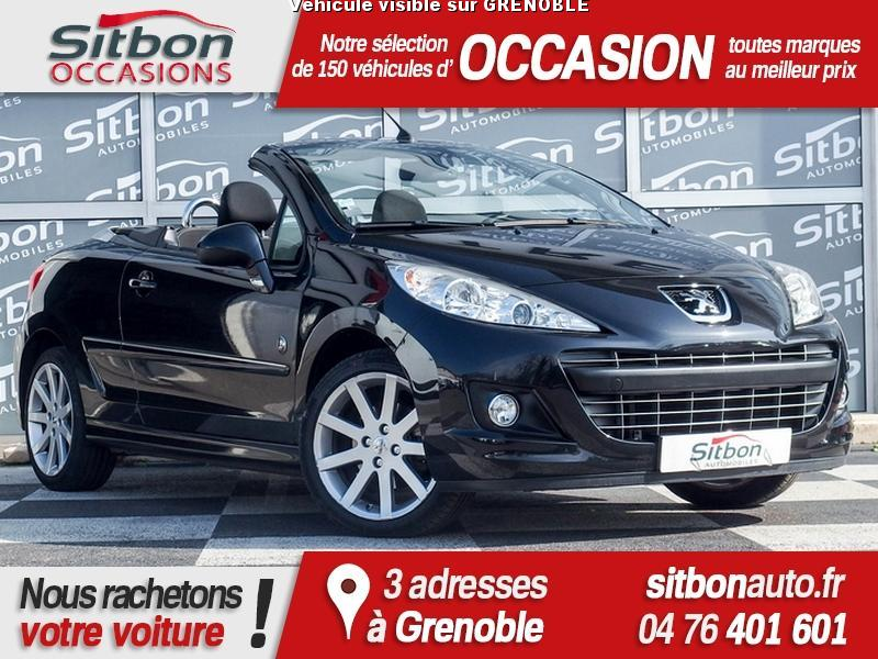 voiture peugeot 207 cc 1 6 hdi 112 roland garros occasion diesel 2010 30000 km 10980. Black Bedroom Furniture Sets. Home Design Ideas