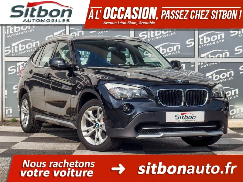 voiture bmw x1 xdrive 18da e84 confort occasion diesel 2012 80000 km 18980 grenoble. Black Bedroom Furniture Sets. Home Design Ideas