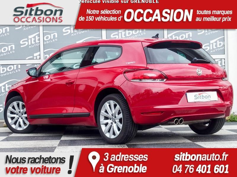 voiture volkswagen scirocco ii 1 4 tsi 122 occasion essence 2010 50000 km 13980. Black Bedroom Furniture Sets. Home Design Ideas