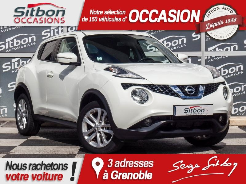 voiture nissan juke 1 2 dig t 115 connect edition occasion essence 2015 38909 km 12980. Black Bedroom Furniture Sets. Home Design Ideas